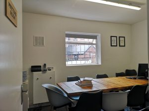 Meeting Room Elements Tea and Coffee House Derby